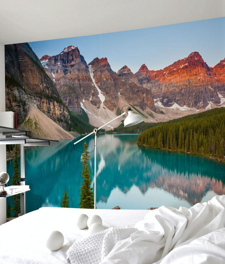 Banff National Park Wall Mural-Landscapes & Nature-Eazywallz