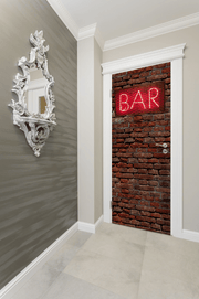 Bar Entrance Door Mural-Urban-Eazywallz