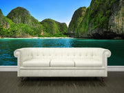 Beautiful lagoon Wall Mural-Tropical & Beach-Eazywallz