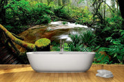 Beautiful rainforest Wall Mural-Landscapes & Nature-Eazywallz