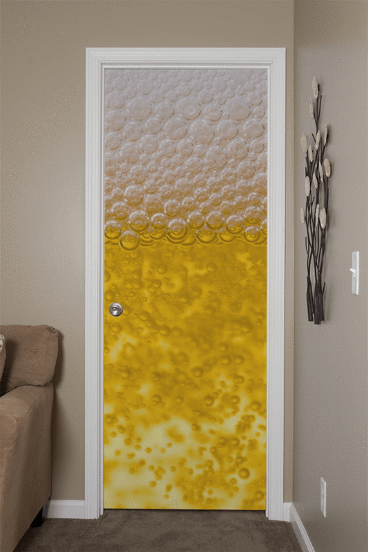 Beer Door Mural-Food & Drink-Eazywallz
