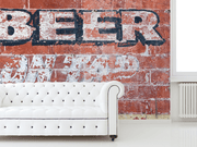 Beer on Tap Wall Mural-Abstract,Zen,Textures,Words,Best Rated Murals,Featured Category of the Month-Eazywallz