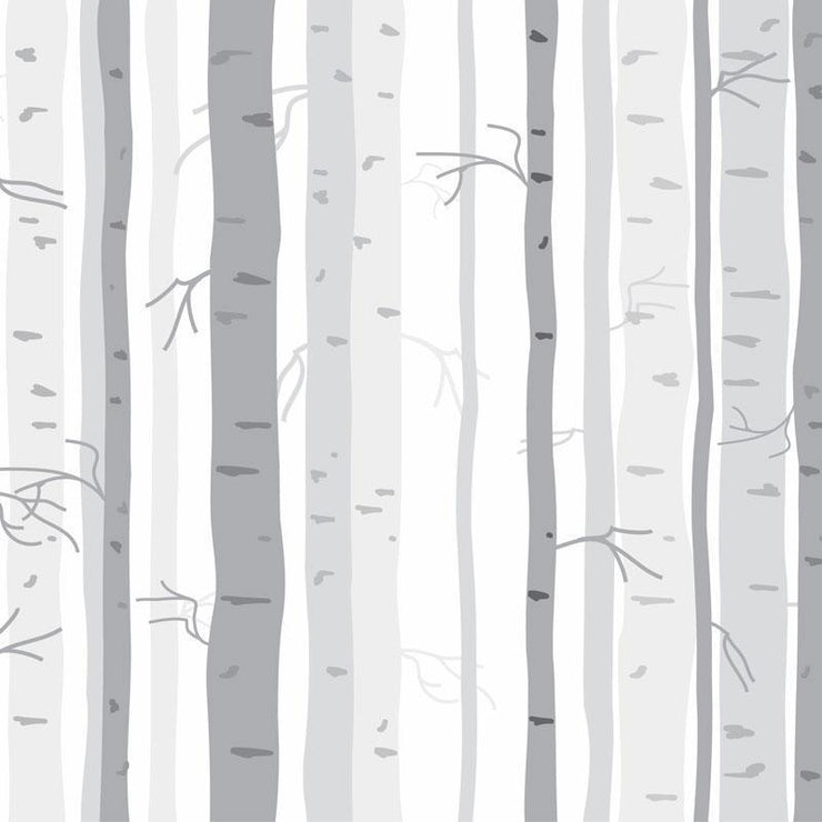 Birch Trees Removable Wallpaper-wallpaper-Eazywallz