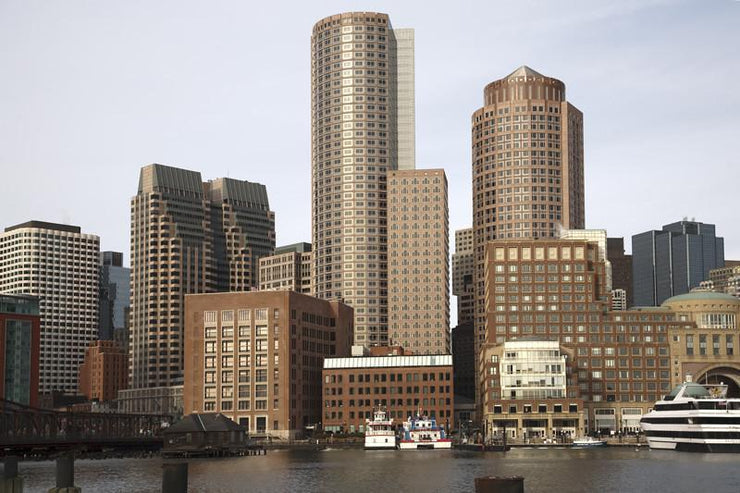 Boston skyline Wall Mural-Cityscapes-Eazywallz