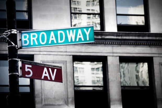 Broadway sign in New York City Wall Mural-Cityscapes,Urban,Buildings & Landmarks,Best Seller Murals,Featured Category-Eazywallz
