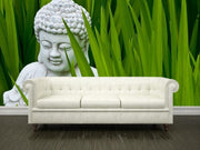 Buddha shows the way Wall Mural-Zen-Eazywallz