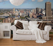 Buffalo, New York Skyline Wall Mural-Cityscapes-Eazywallz