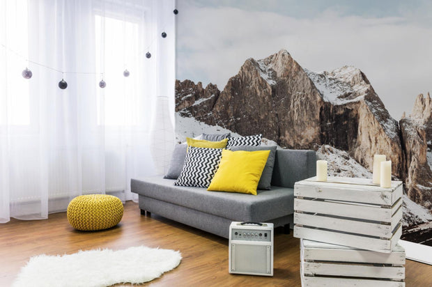 Canazei Mountains Wall Mural-Landscapes & Nature-Eazywallz