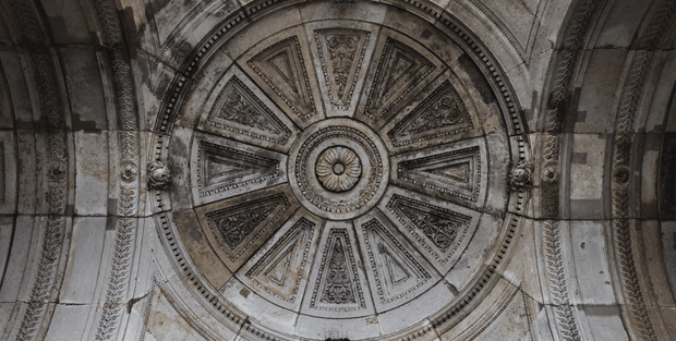 Cathedral Ceiling Table Skin-Buildings & Landmarks,Best Rated Murals-Eazywallz