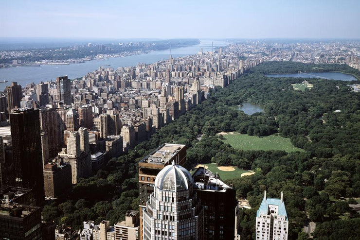 Central Park Over View Wall Mural-Cityscapes-Eazywallz