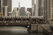 Chicago Riverwalk Wall Mural-Cityscapes,Transportation,Urban-Eazywallz