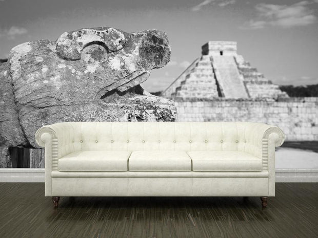 Chichen Itza, Mexico Wall Mural-Buildings & Landmarks-Eazywallz