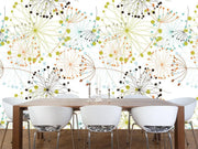 Colorful dandelion pattern Wall Mural-Patterns-Eazywallz