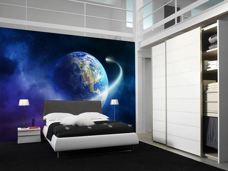 Comet Path Wall Mural-Space-Eazywallz