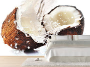 Cracked coconut Wall Mural-Food & Drink-Eazywallz