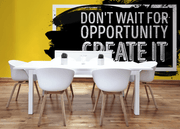 Create Opportunity Wall Mural-Words,Featured Category of the Month-Eazywallz