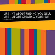 Create Yourself Wall Mural-Words,Featured Category of the Month-Eazywallz