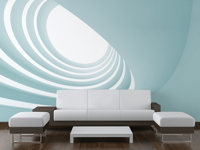 Curves Mural-Abstract-Eazywallz