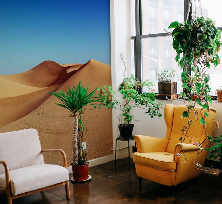 Desert Under Blue Sky Wall Mural-Landscapes & Nature-Eazywallz