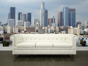 Downtown Los Angeles Wall Mural-Cityscapes-Eazywallz
