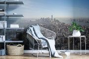 Downtown NYC Skyline Mural Wallpaper-Cityscapes-Eazywallz