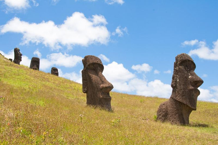 Easter Island, Chile Wall Mural-Buildings & Landmarks-Eazywallz
