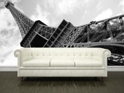 Eiffel Tower over the blue sky, France Wall Mural-Buildings & Landmarks-Eazywallz