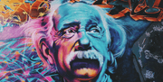 Einstein Graffiti Table Skin-Urban-Eazywallz