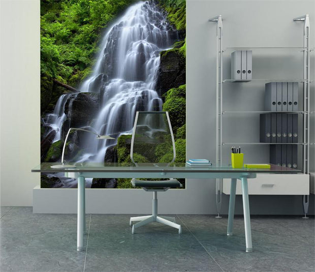 Fairy Falls Wall Mural-Landscapes & Nature-Eazywallz