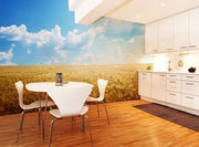 Field of Barley Wall Mural-Food & Drink,Landscapes & Nature-Eazywallz