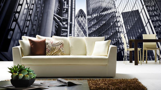 Financial District of London Wall Mural-Buildings & Landmarks,Cityscapes,Panoramic-Eazywallz
