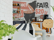 Food Market Ad Wall Mural-Food & Drink,Staff Favourite Murals-Eazywallz