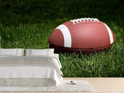 Football on the field Wall Mural-Sports-Eazywallz