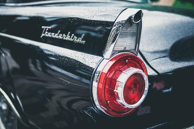Ford Thunderbird Wall Mural-Transportation-Eazywallz