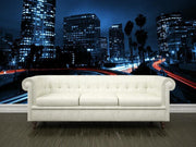 Freeway Overpass Traffic Wall Mural-Cityscapes,Urban-Eazywallz