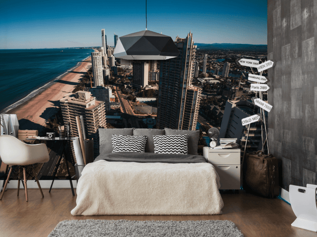 Gold Coast, Australia Wall Mural-Cityscapes-Eazywallz