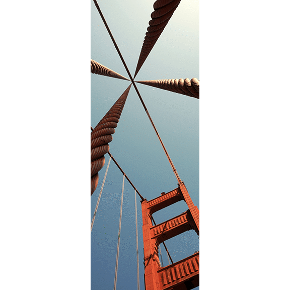 Golden Gate Bridge Door Mural-Buildings & Landmarks-Eazywallz