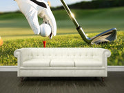 Golf tee Wall Mural-Sports-Eazywallz