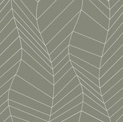 Green Grey Line Dance Wallpaper