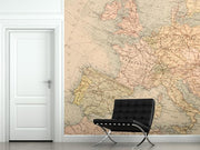 Historical Map of Europe Wall Mural-Maps-Eazywallz
