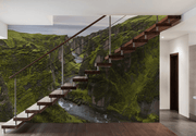 Iceland Canyon Wall Mural-Landscapes & Nature-Eazywallz