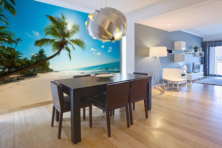 Lagoon Wall Mural-Tropical & Beach-Eazywallz