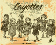 """Layettes"" Wall Mural-Vintage-Eazywallz"