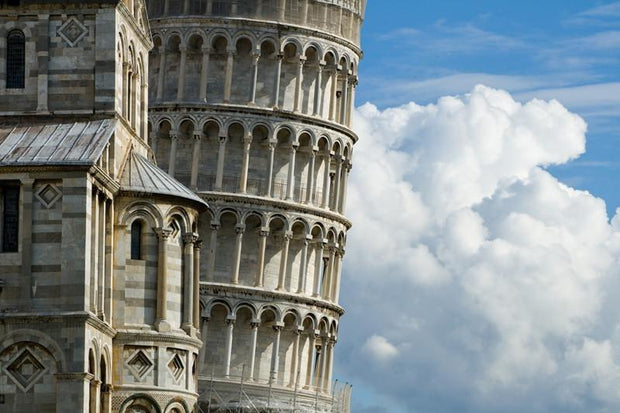 Leaning Tower of Pisa, Italy Wall Mural-Buildings & Landmarks-Eazywallz
