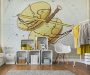 Libra Wall Mural-astrology-Eazywallz