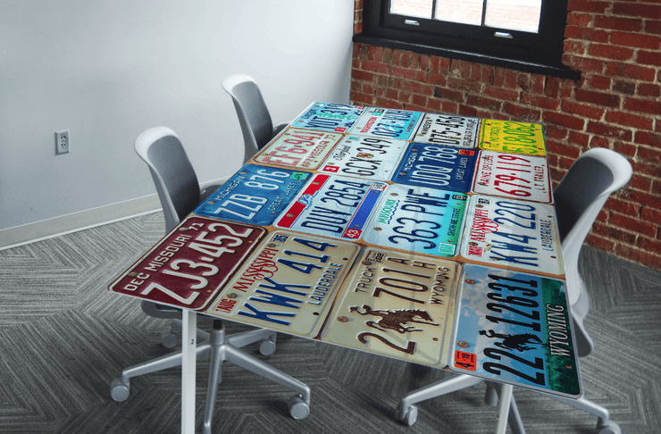 License Plate Table Skin-Sci-Fi & Fantasy-Eazywallz