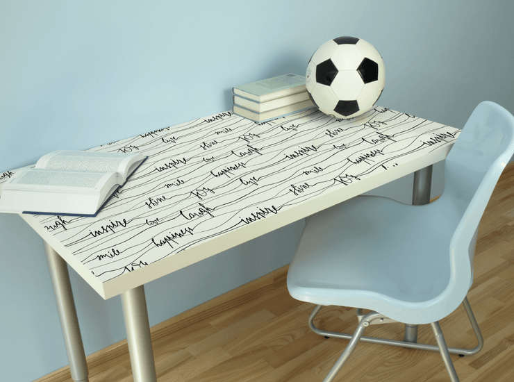 Live, Love, & Laugh Table Skin-Words,Featured Category of the Month-Eazywallz