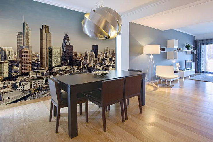 London Cityscape Wall Mural-Cityscapes,Panoramic-Eazywallz