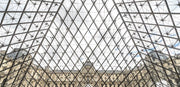 Louvre Museum, Paris, France Wall Mural-Cityscapes,Panoramic-Eazywallz