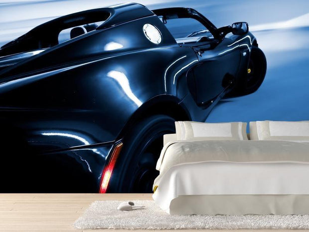 Luxury sport car Wall Mural-Transportation-Eazywallz
